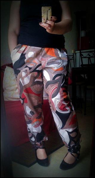 BURDA HS 43H Pantalon 2C