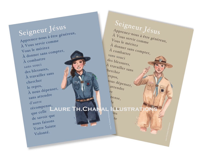 cartes scoutes fili