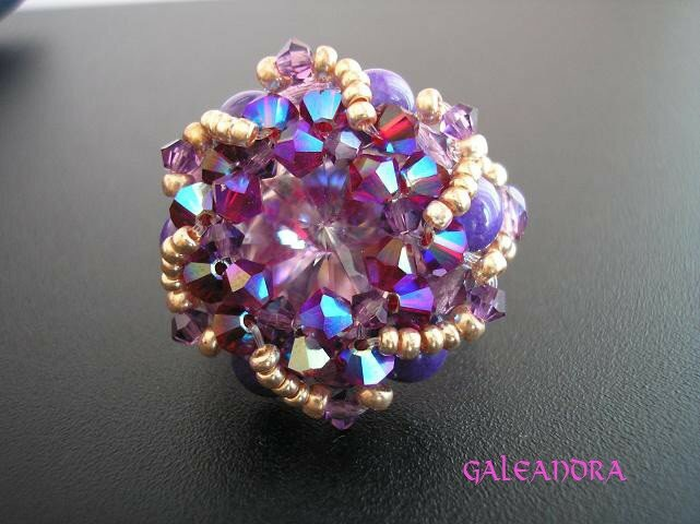 Bague frenzy light amethyst