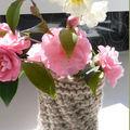 Idée récup pour un petit vase