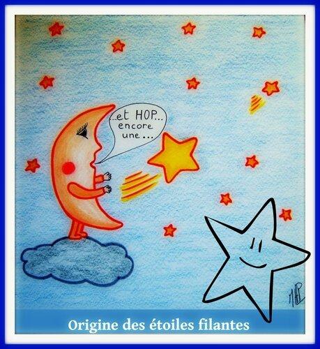 Mais d'ou viennent les étoiles filantes