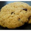 Cookies aux pépites de chocolat et flocons d'avoine... un classique à croquer !