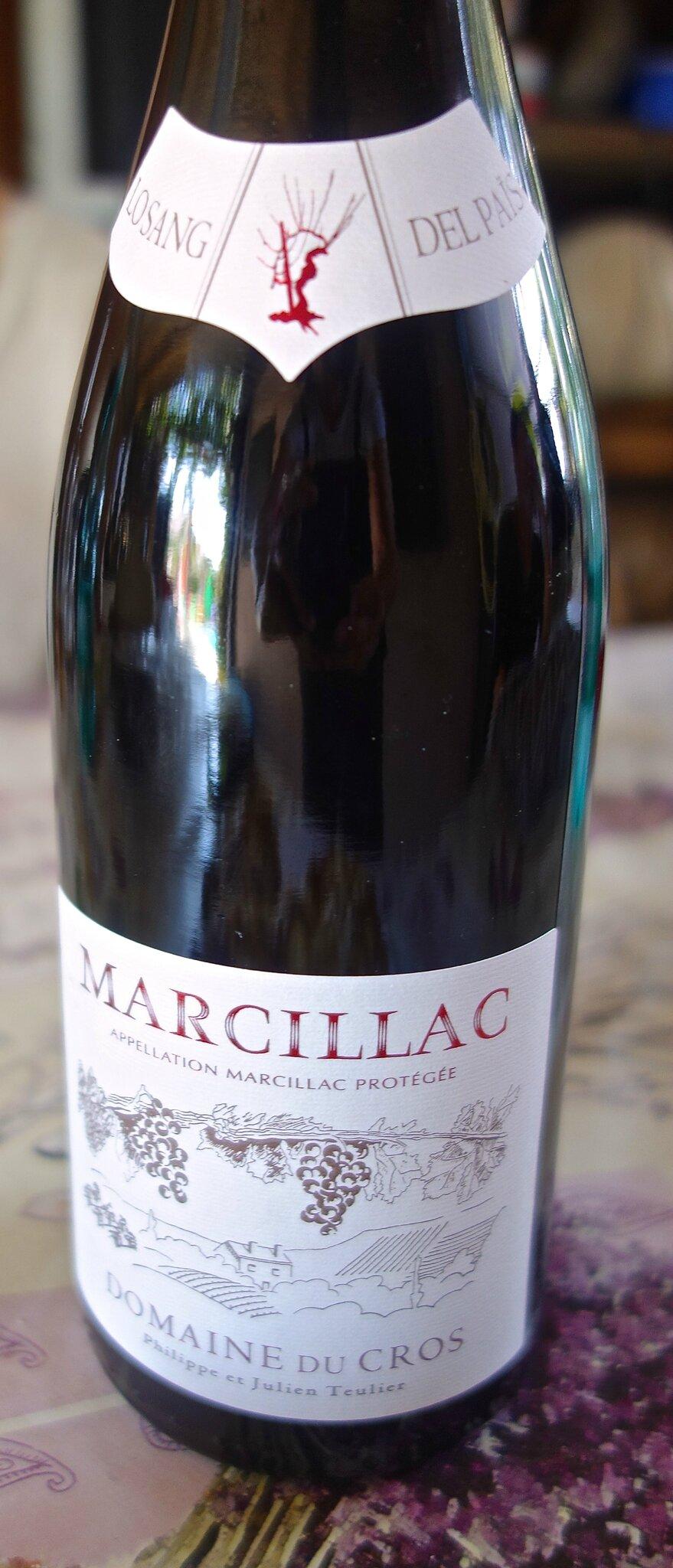 vin rouge de Marcillac