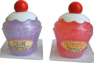 Bain moussant Cupcake déballé