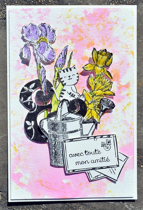 blogorel carte printemps loreeduscrap passion scrap
