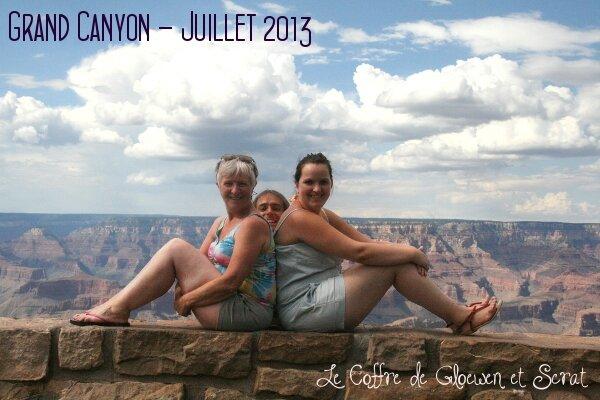 Le Grand Canyon est chouette chez Gloewen et Scrat