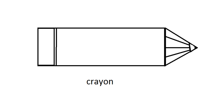 1b crayon