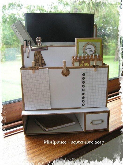 Accessoire Rangement Bureau - DIY