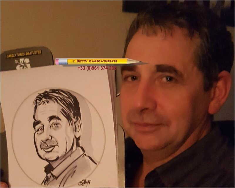animation caricaturiste nouvel an