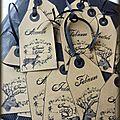 étiquettes noël 2011