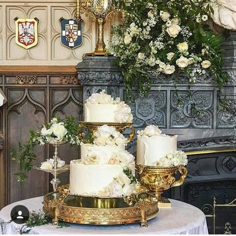 Le Wedding Cake De Harry Et Meghan Et Le Reste Du Menu