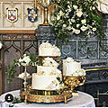 Le wedding cake de harry et meghan... ( et le reste du menu )