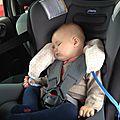 Coussin repose tête pour voyages en voiture