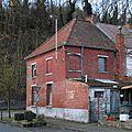 Flénu - Rue du Moulin d'en Haut - maison du coin - back 1