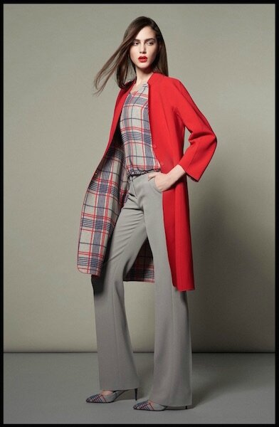 giorgio armani collection spring tartan capsule 4