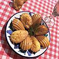 Recette du jour : madeleine au saumon fumé et à l'aneth