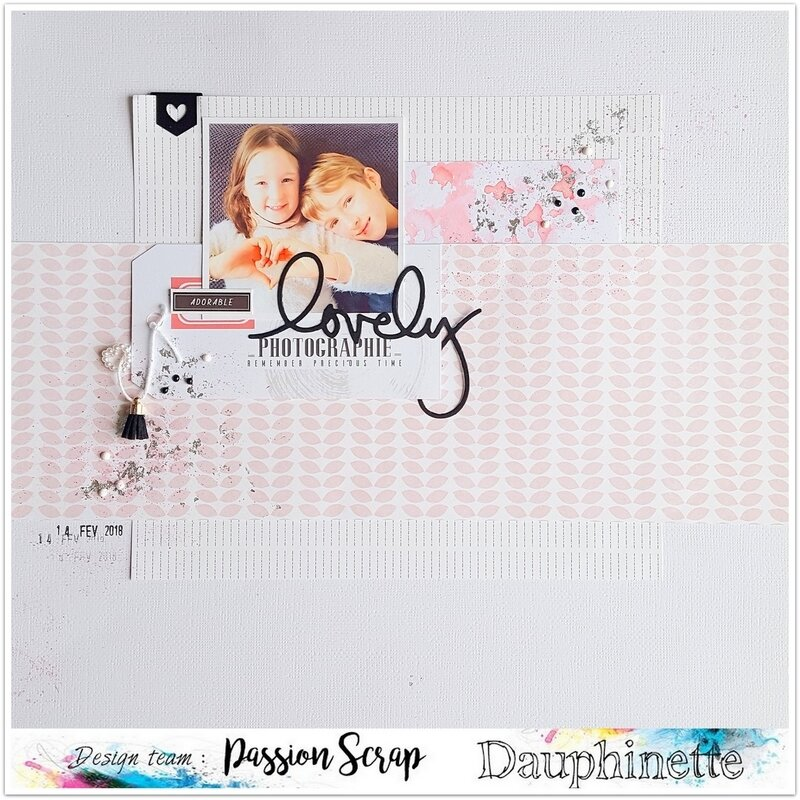 page lovely passion scrap