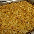 Gratin de céleri rave et pommes de terre au haddock