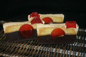 savon choco fraise