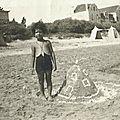 Ginette : concours de chateaux de sable