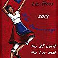 Affiche des fêtes 2013