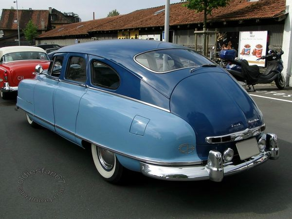 nash ambassador custom 4door sedan 1950 4
