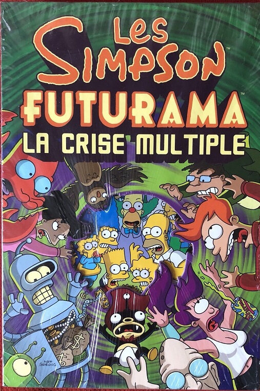 bongo simpson futurama la crise multiple