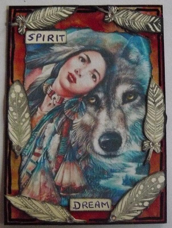 atc 2392-série 17-originale-spirit dream