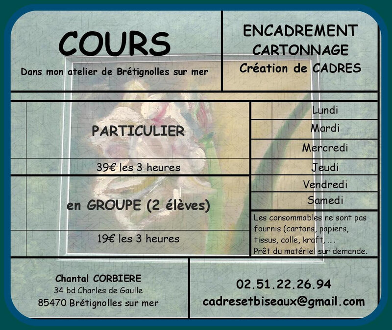 cours atelier