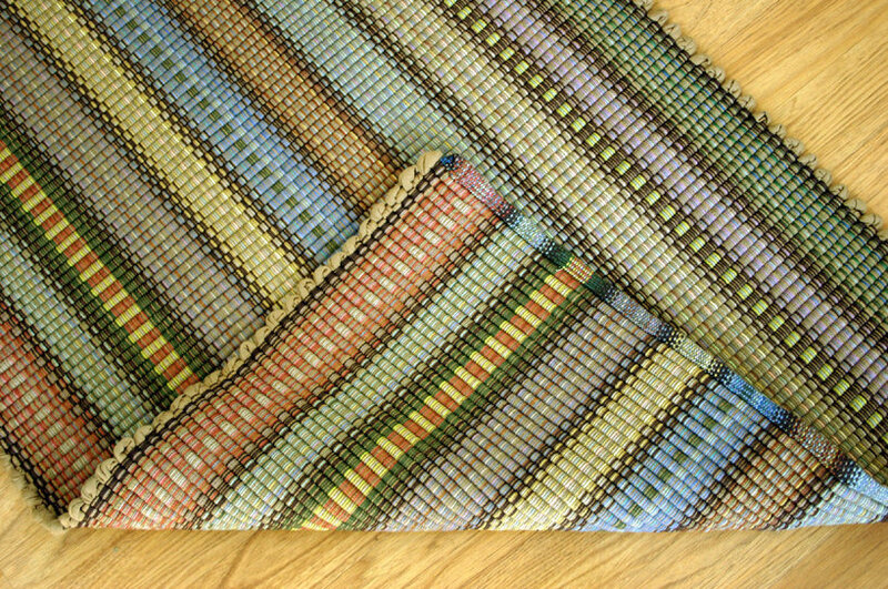 Handwoven-Rag-Rug-Woven-Cotton-Rug-Runner-Shades-Of-Autumn
