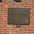 Le Parc Itterbeek - Plaque Commémorative
