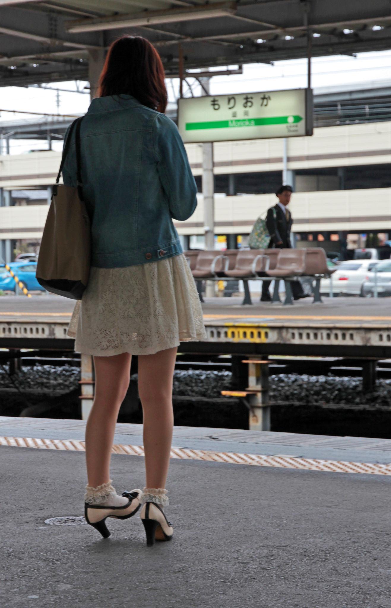 Morioka eki Girl