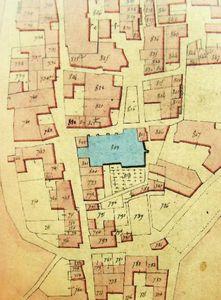Champagne église Saint-Pierre plan 2