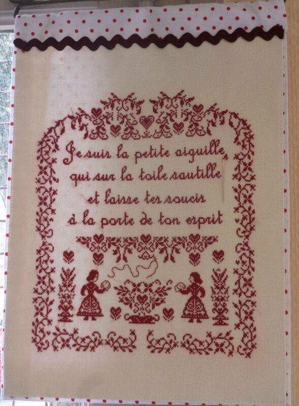 Sylvaine-bande rouge