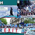 clips/vidéos de la manifestation de l'upr du 1er mai 2018