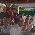 Masevaux-niederbruck: visite municipale au camping