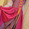 Robe raiponce (enfin presque )