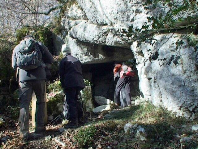 grotte des réfractaires