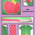 tee shirt pomme