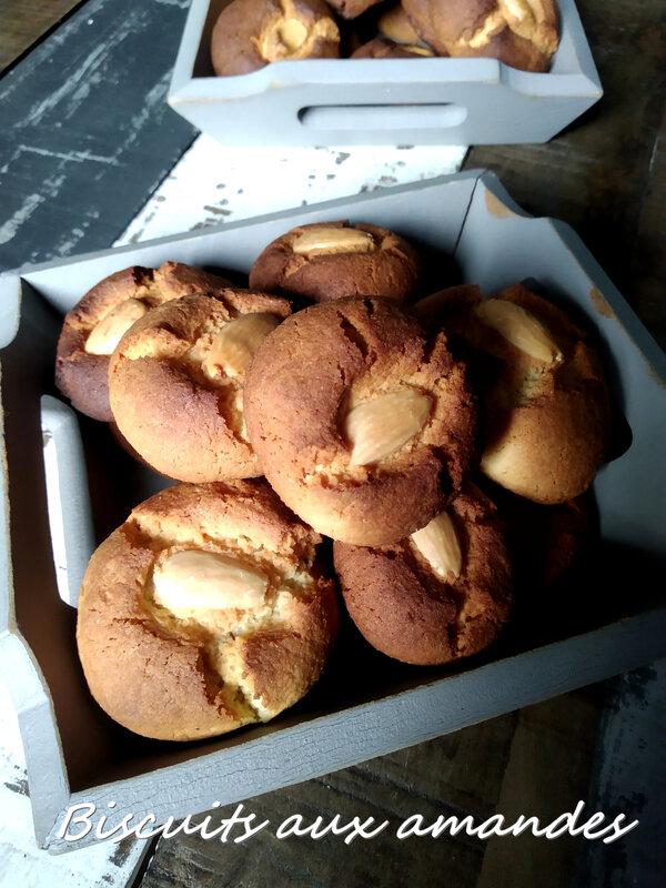 Biscuits aux amandes1