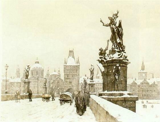 Charles Bridge in Winter 29