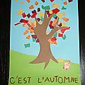 arts visuels : l'arbre au fil des saisons CP