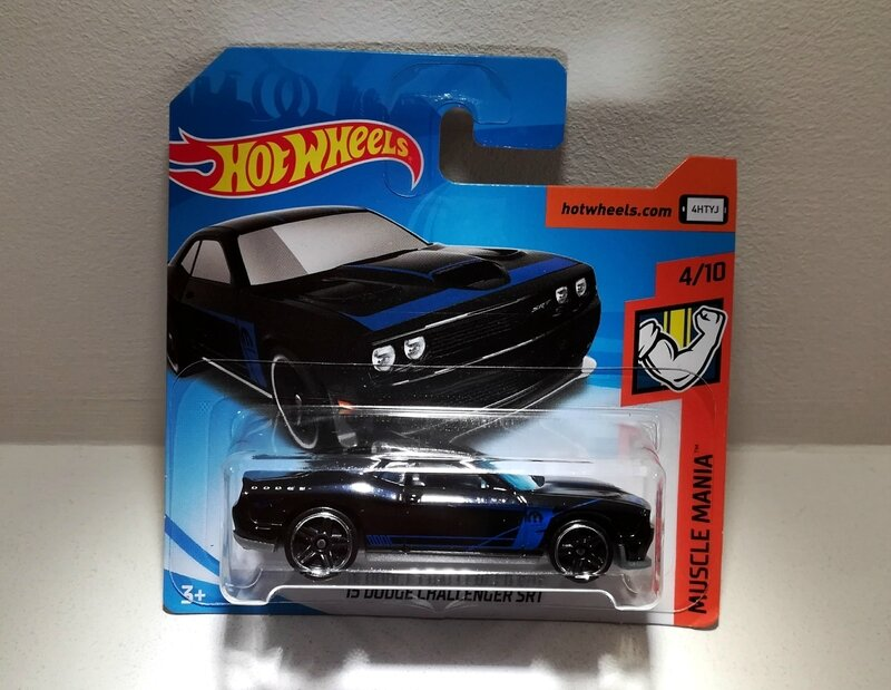 Dodge Challenger SRT de 2015 (Hotwheels)