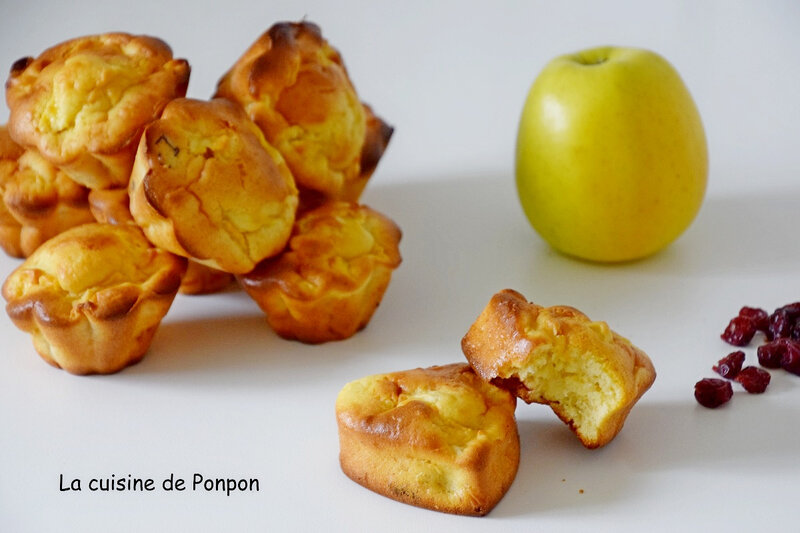 muffin pommes cranberries (7)