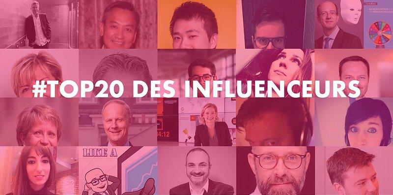 TOP 20 Magnave des influenceurs du digital, avec @fredfougerat