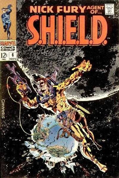 nick fury agent of shield 1968 06
