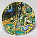 Influence of renaissance prints on maiolica and bronze explored at the national gallery of art
