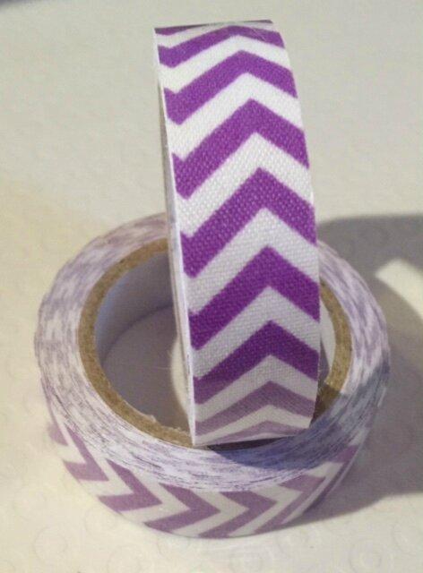 Masking Tape Coton - violet