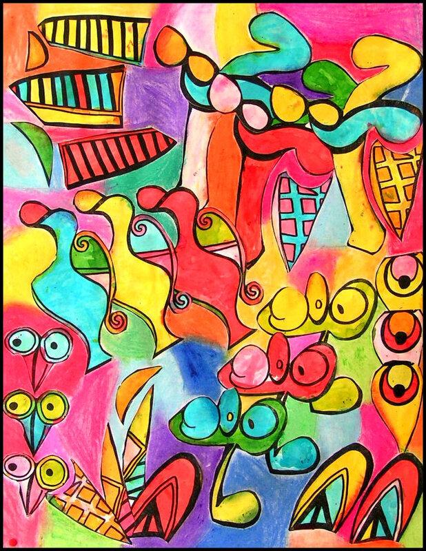 126_Compositions abstraites_Picasso cassé (10)