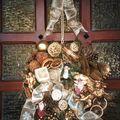 couronne de porte Noël